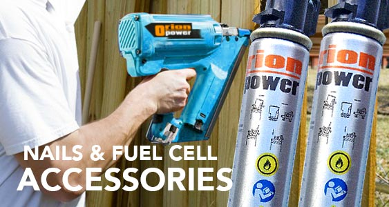 Orion Nailer Fuel Cell and Nail Accessories