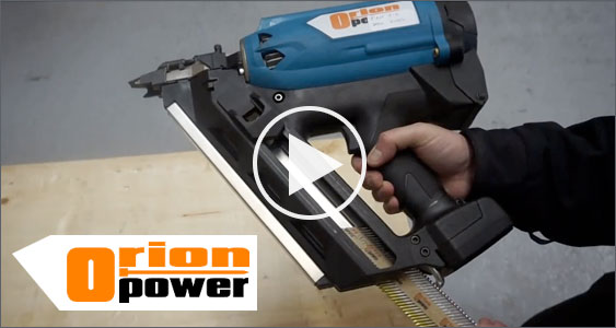 Orion Power Tool Nailer Video